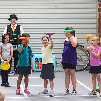 Suitcase Circus Junior Jugglers